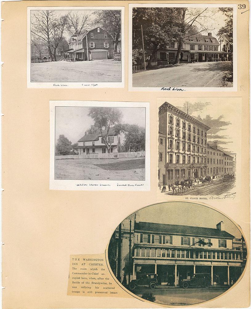 Castner Scrapbook v.29, Hotels 2, page 39