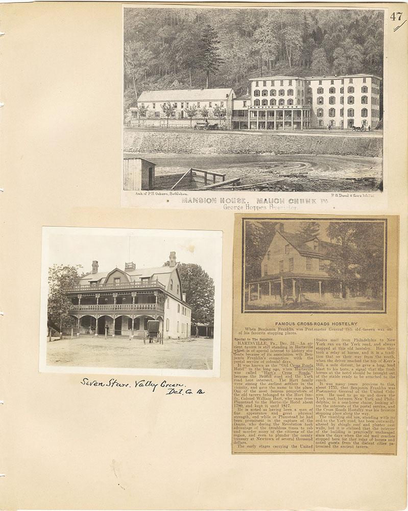 Castner Scrapbook v.29, Hotels 2, page 47