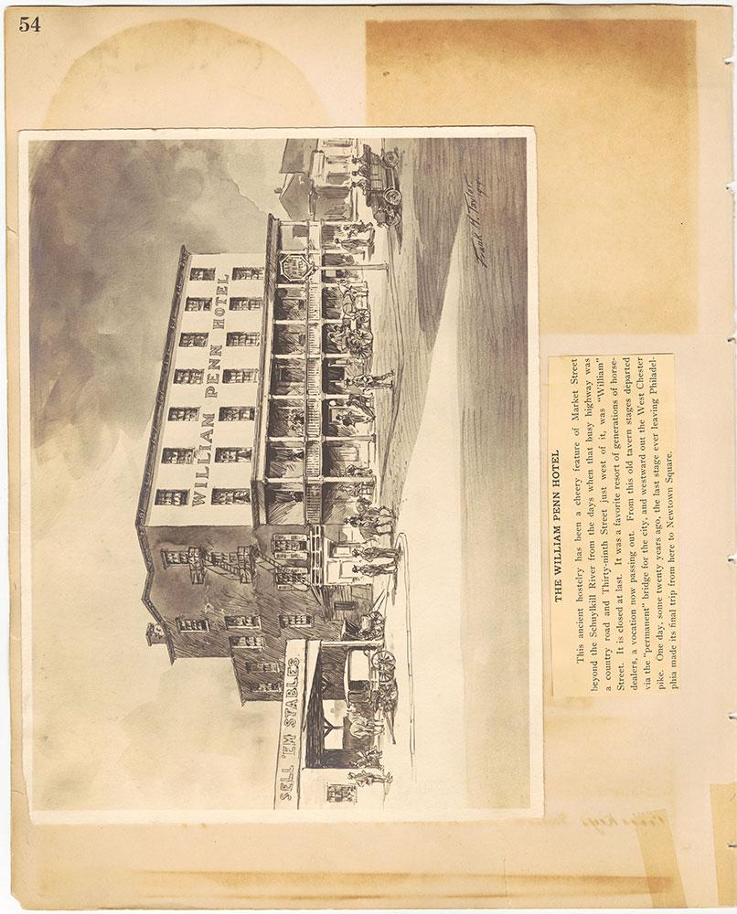 Castner Scrapbook v.29, Hotels 2, page 54