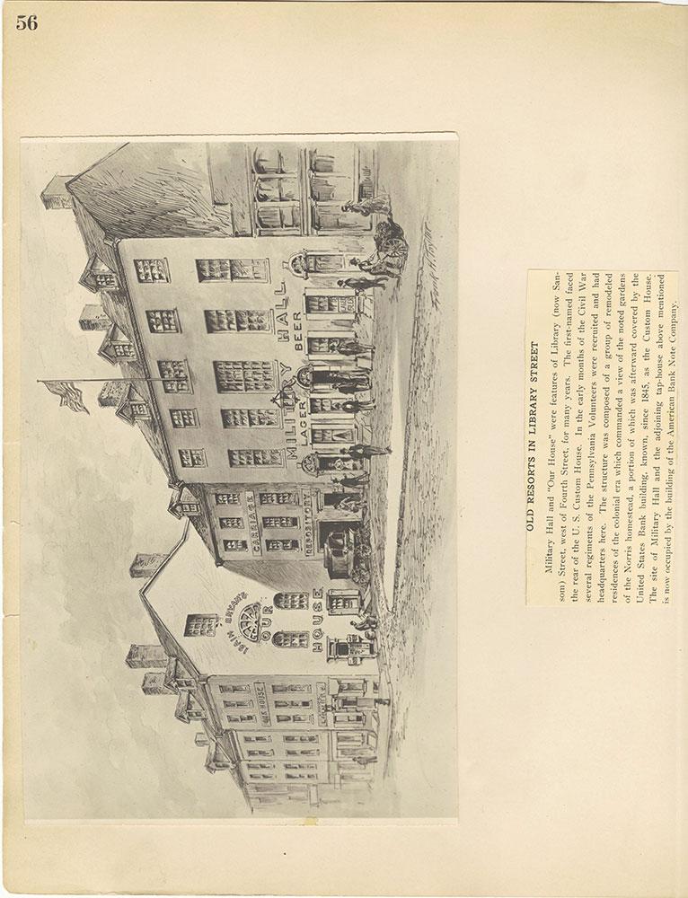 Castner Scrapbook v.29, Hotels 2, page 56
