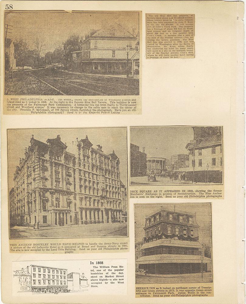 Castner Scrapbook v.29, Hotels 2, page 58