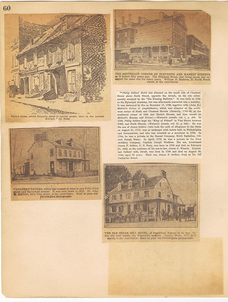 Castner Scrapbook v.29, Hotels 2, page 60