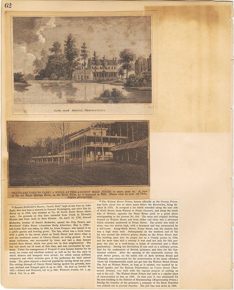 Castner Scrapbook v.29, Hotels 2, page 62