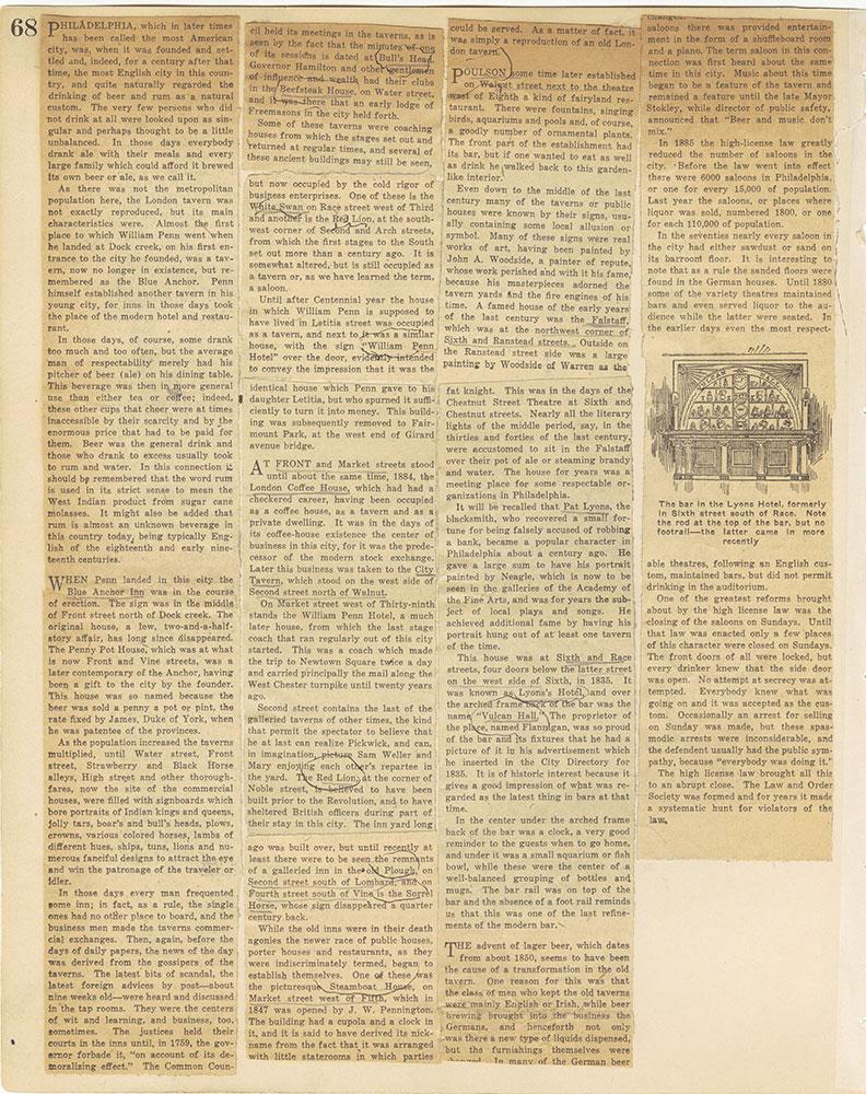 Castner Scrapbook v.29, Hotels 2, page 68