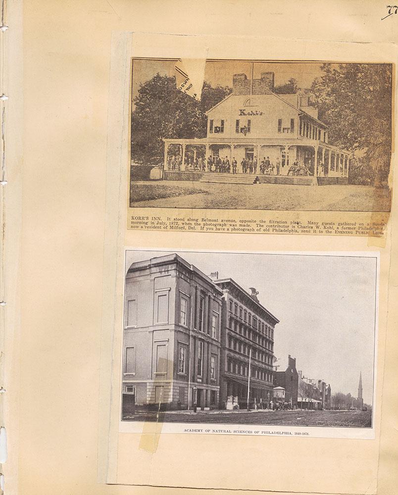 Castner Scrapbook v.29, Hotels 2, page 77