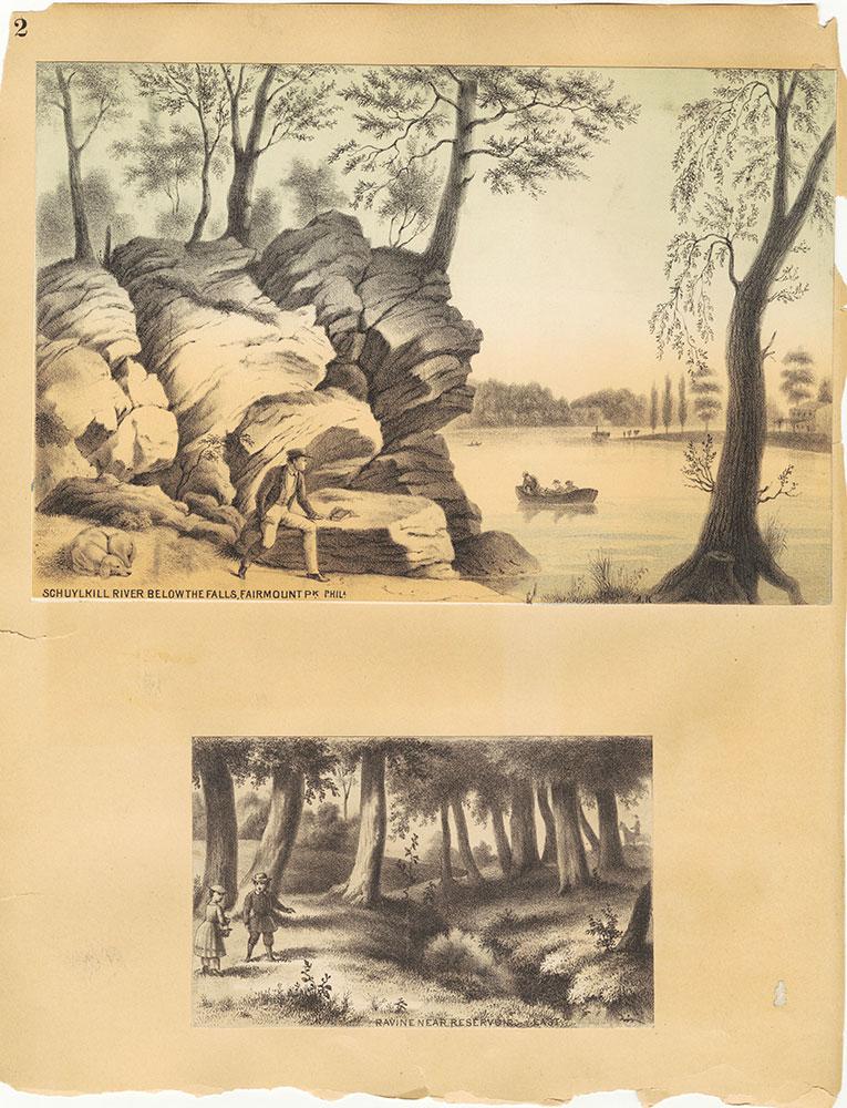 Castner Scrapbook v.30, Park and Schuylkill River 2, page 2