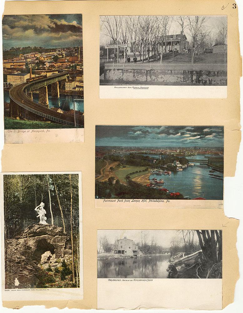 Castner Scrapbook v.30, Park and Schuylkill River 2, page 3