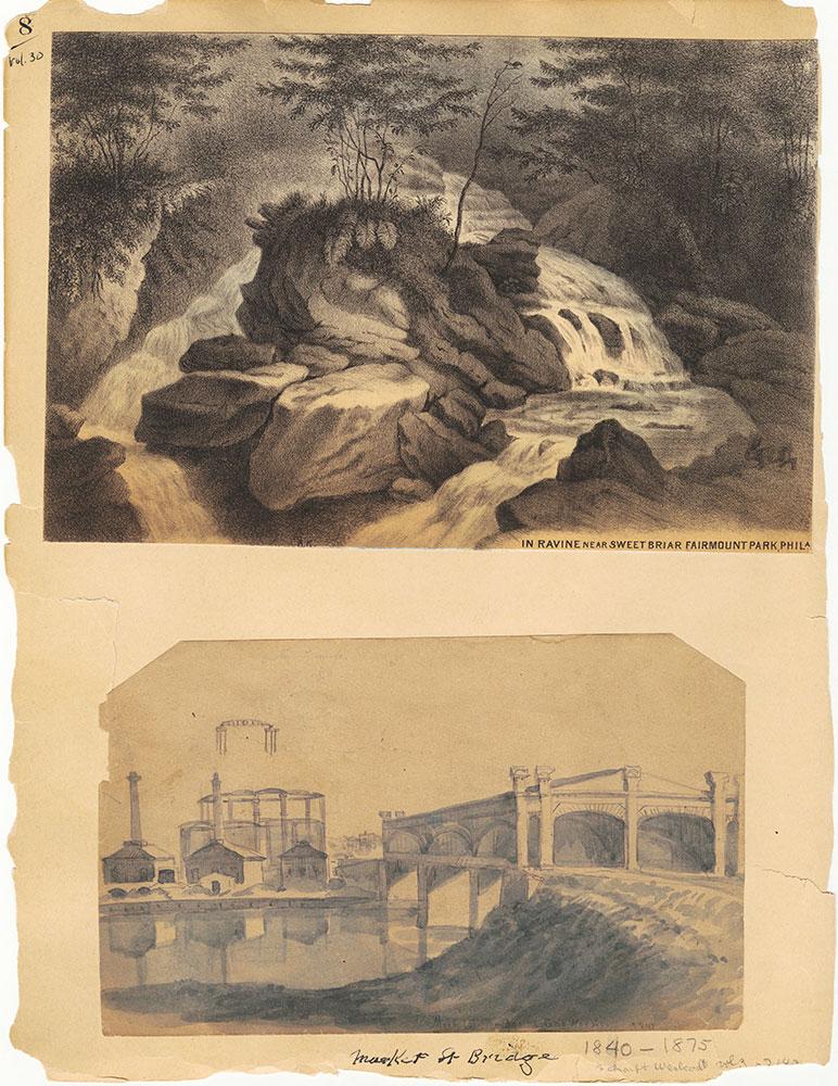 Castner Scrapbook v.30, Park and Schuylkill River 2, page 8