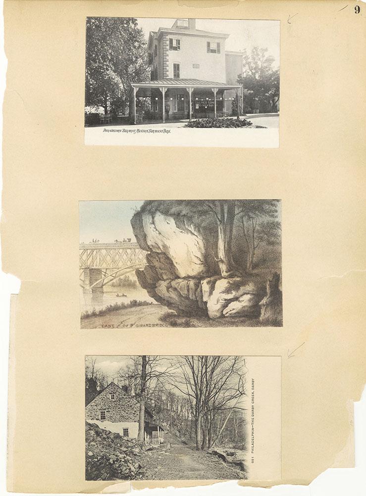 Castner Scrapbook v.30, Park and Schuylkill River 2, page 9
