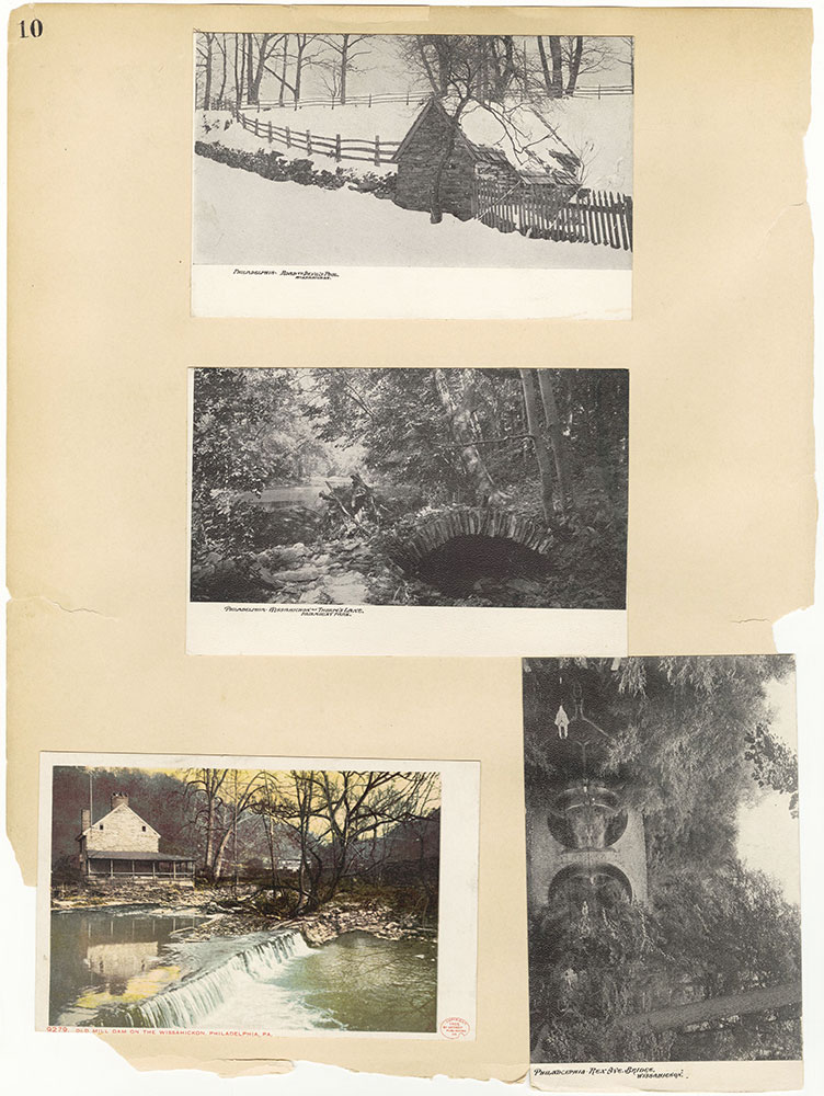 Castner Scrapbook v.30, Park and Schuylkill River 2, page 10