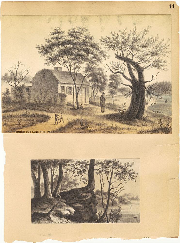 Castner Scrapbook v.30, Park and Schuylkill River 2, page 11