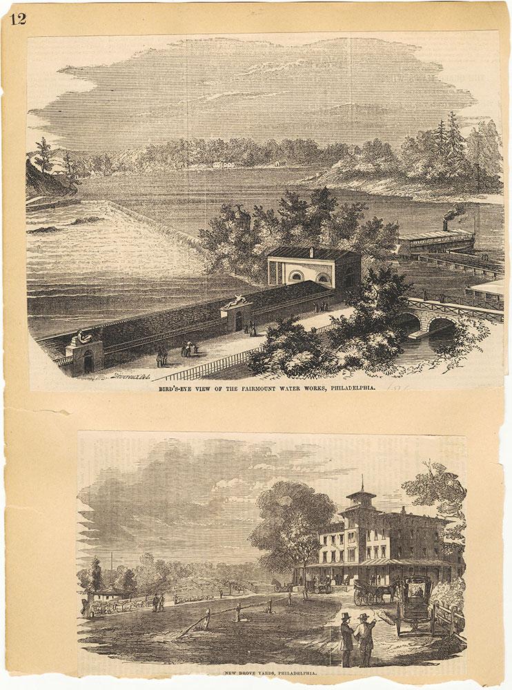 Castner Scrapbook v.30, Park and Schuylkill River 2, page 12