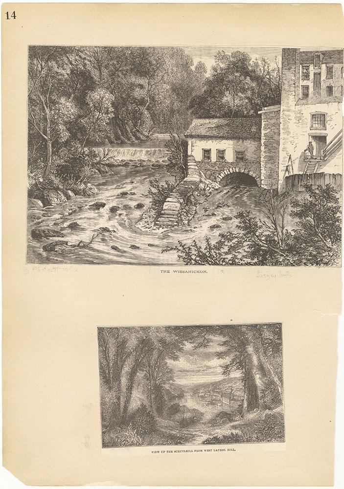 Castner Scrapbook v.30, Park and Schuylkill River 2, page 14
