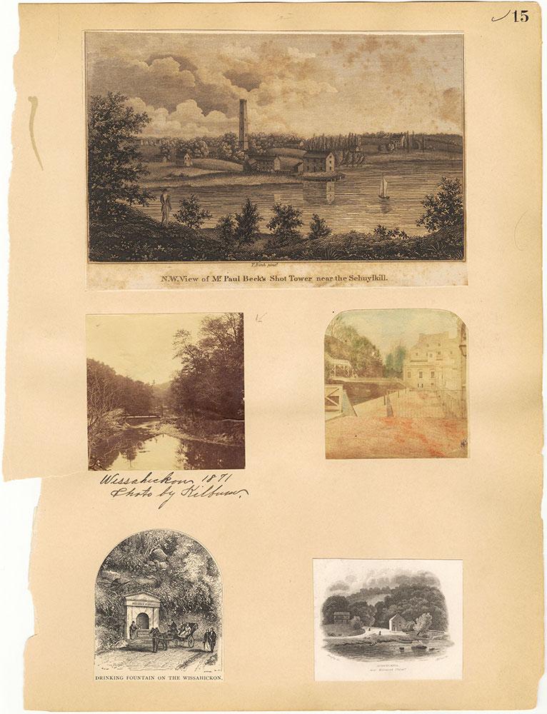 Castner Scrapbook v.30, Park and Schuylkill River 2, page 15