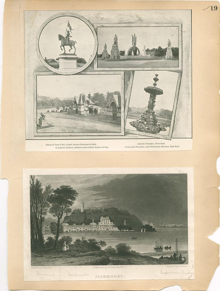 Castner Scrapbook v.30, Park and Schuylkill River 2, page 19