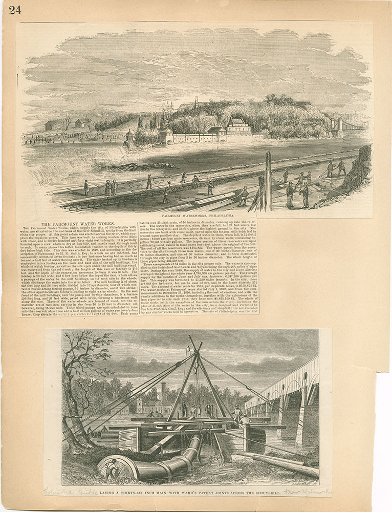 Castner Scrapbook v.30, Park and Schuylkill River 2, page 24