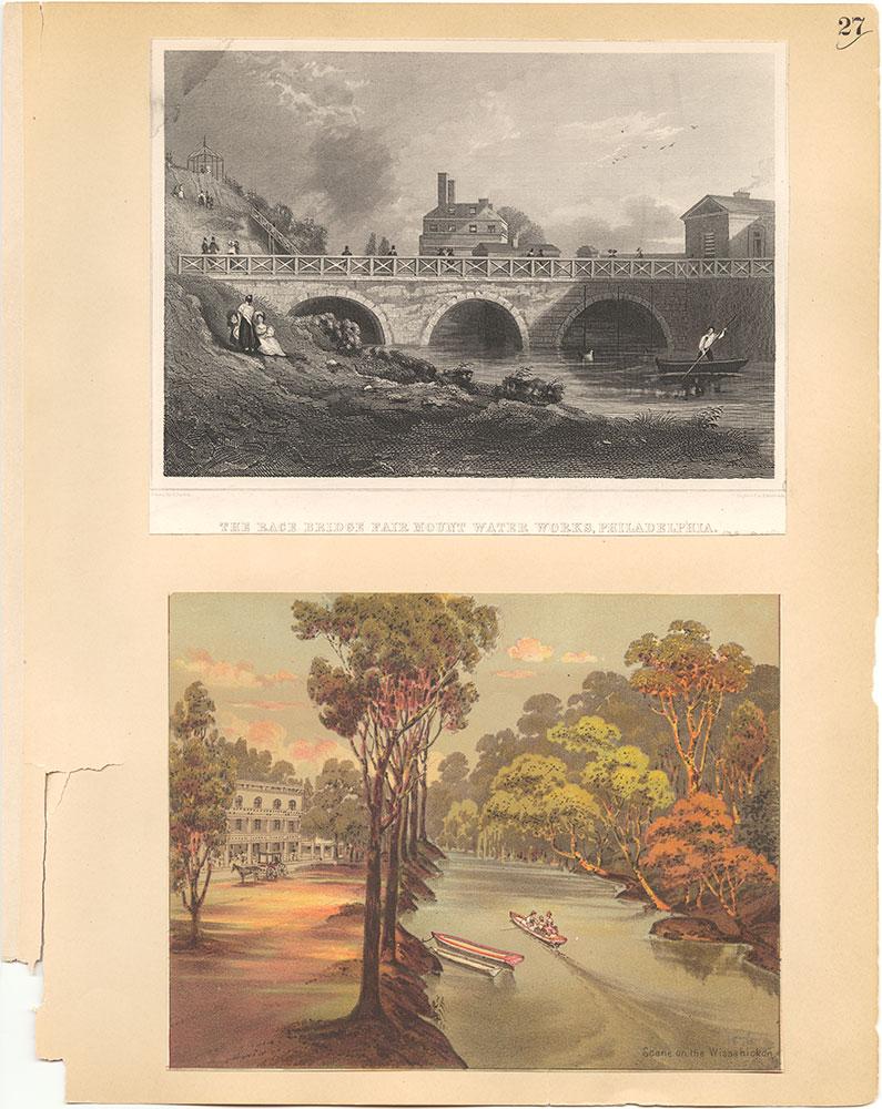 Castner Scrapbook v.30, Park and Schuylkill River 2, page 27