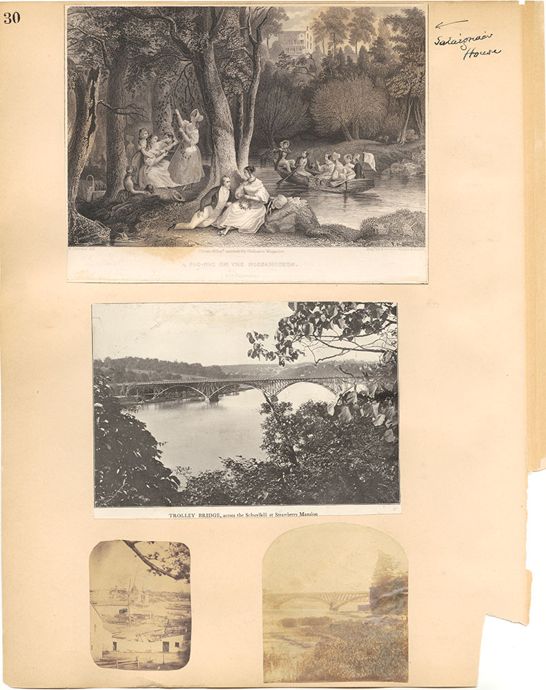 Castner Scrapbook v.30, Park and Schuylkill River 2, page 30