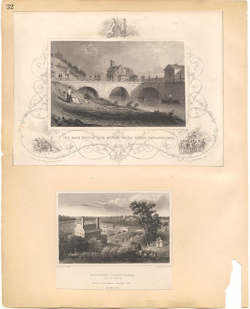 Castner Scrapbook v.30, Park and Schuylkill River 2, page 32