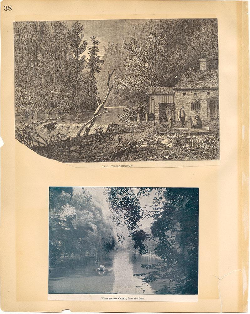Castner Scrapbook v.30, Park and Schuylkill River 2, page 38