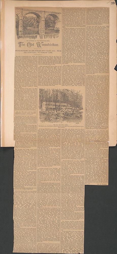Castner Scrapbook v.30, Park and Schuylkill River 2, page 39