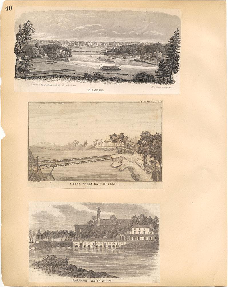 Castner Scrapbook v.30, Park and Schuylkill River 2, page 40
