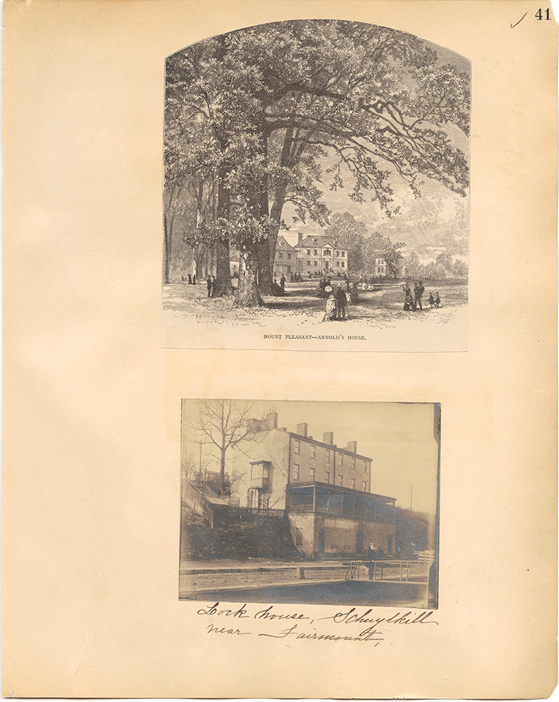 Castner Scrapbook v.30, Park and Schuylkill River 2, page 41