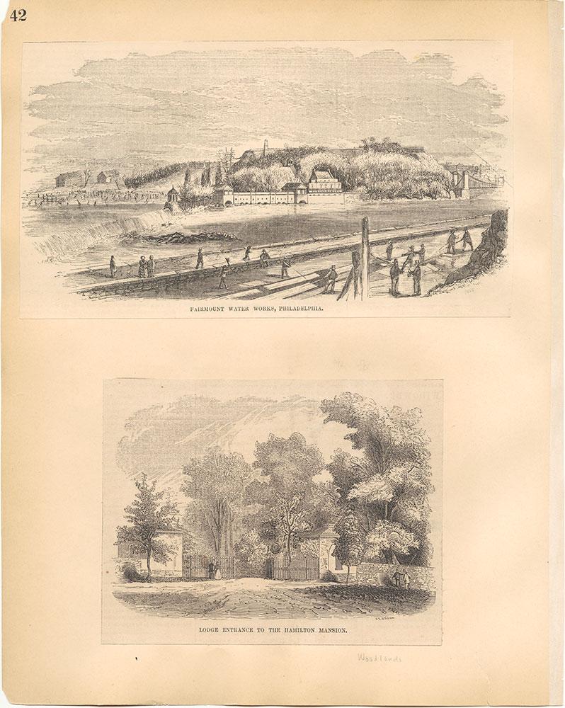 Castner Scrapbook v.30, Park and Schuylkill River 2, page 42