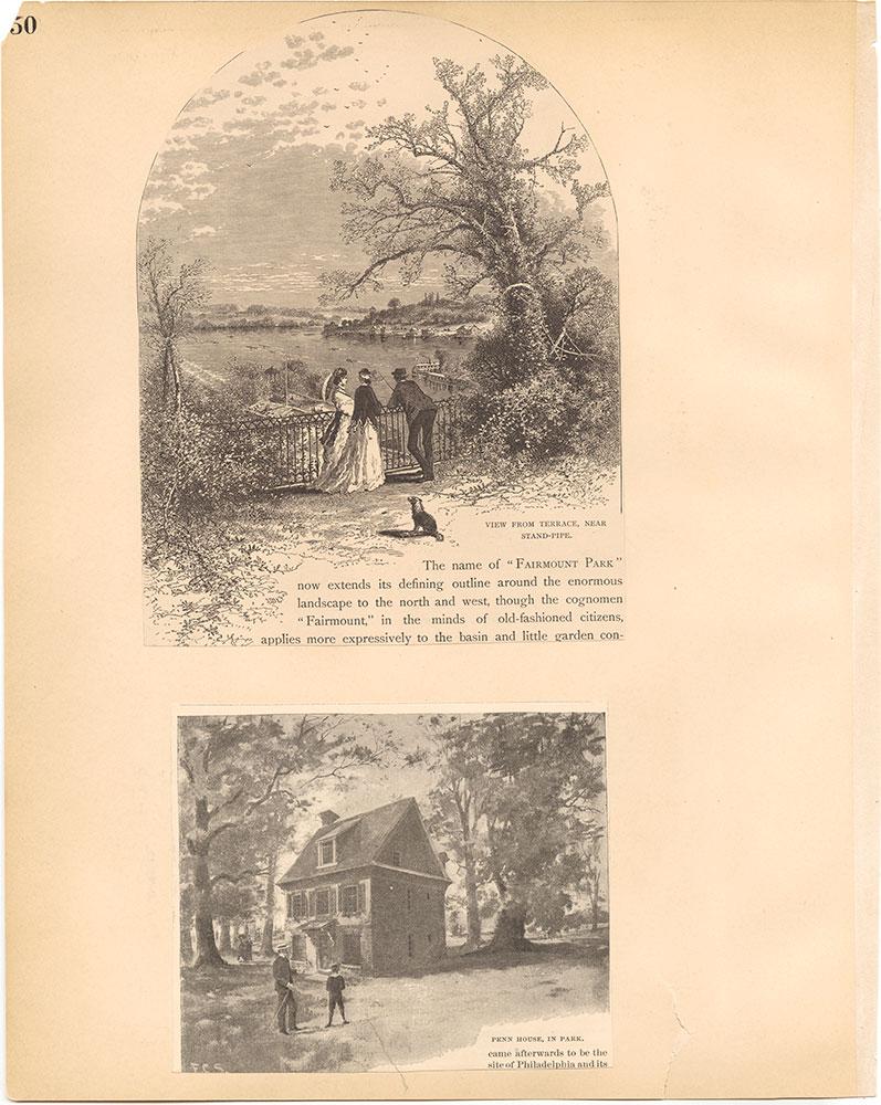 Castner Scrapbook v.30, Park and Schuylkill River 2, page 50