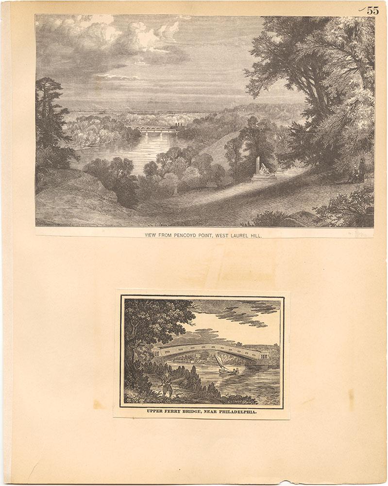 Castner Scrapbook v.30, Park and Schuylkill River 2, page 55