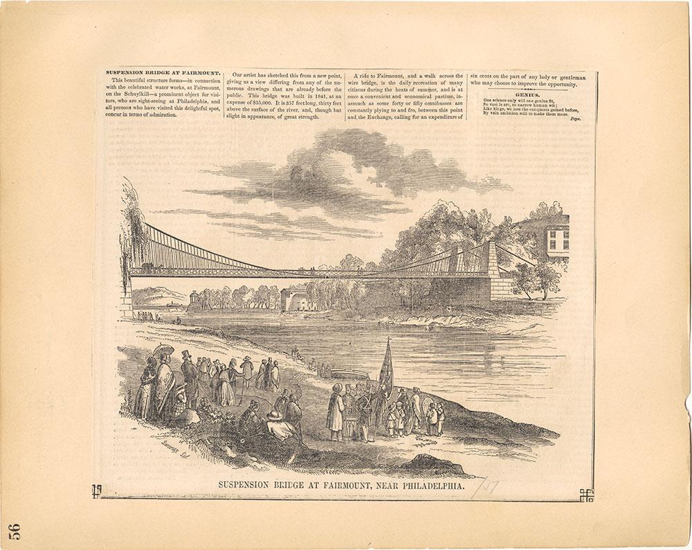 Castner Scrapbook v.30, Park and Schuylkill River 2, page 56