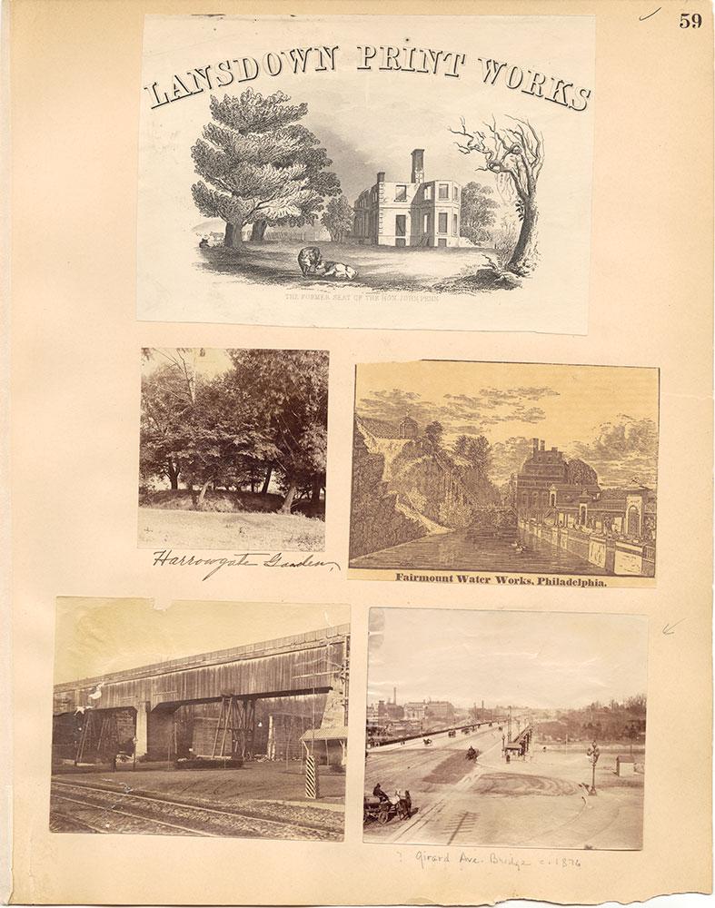 Castner Scrapbook v.30, Park and Schuylkill River 2, page 59