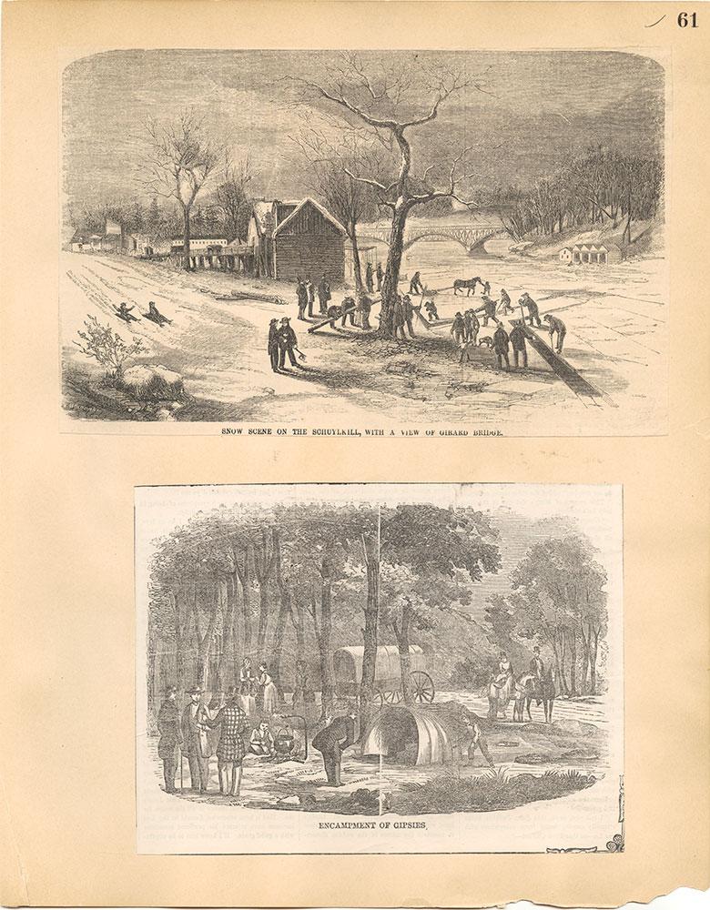 Castner Scrapbook v.30, Park and Schuylkill River 2, page 61
