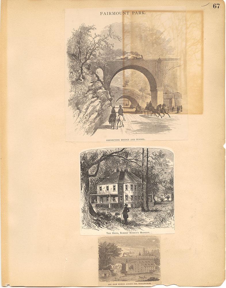 Castner Scrapbook v.30, Park and Schuylkill River 2, page 67