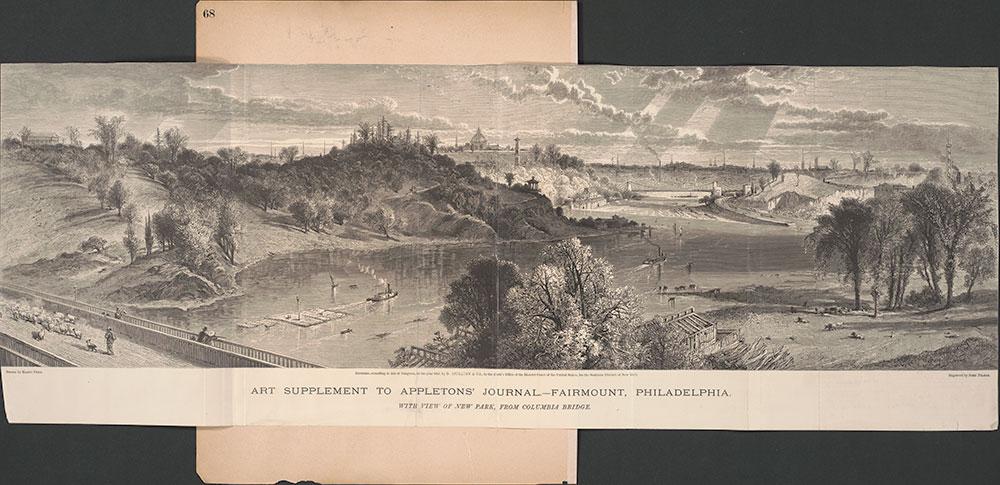 Castner Scrapbook v.30, Park and Schuylkill River 2, page 68