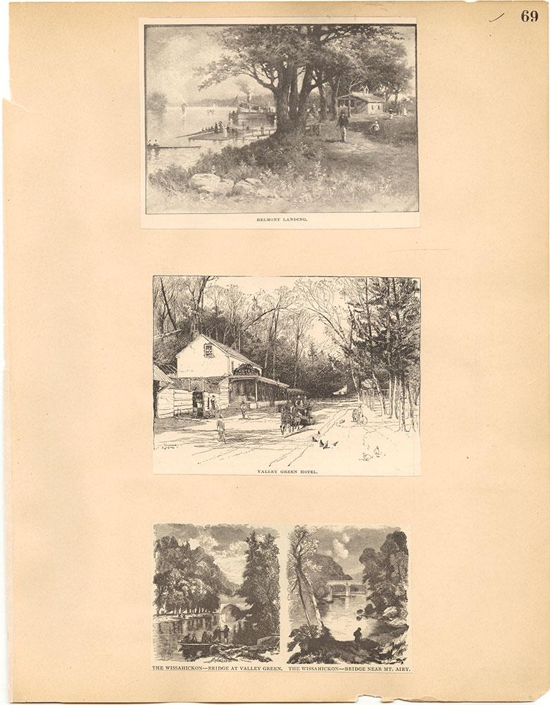 Castner Scrapbook v.30, Park and Schuylkill River 2, page 69