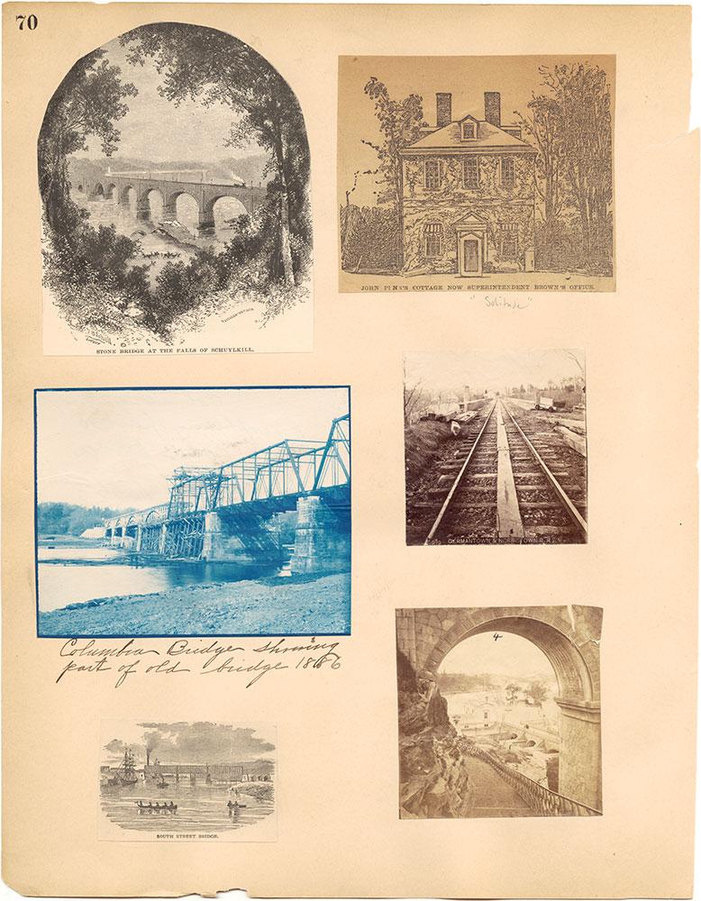 Castner Scrapbook v.30, Park and Schuylkill River 2, page 70
