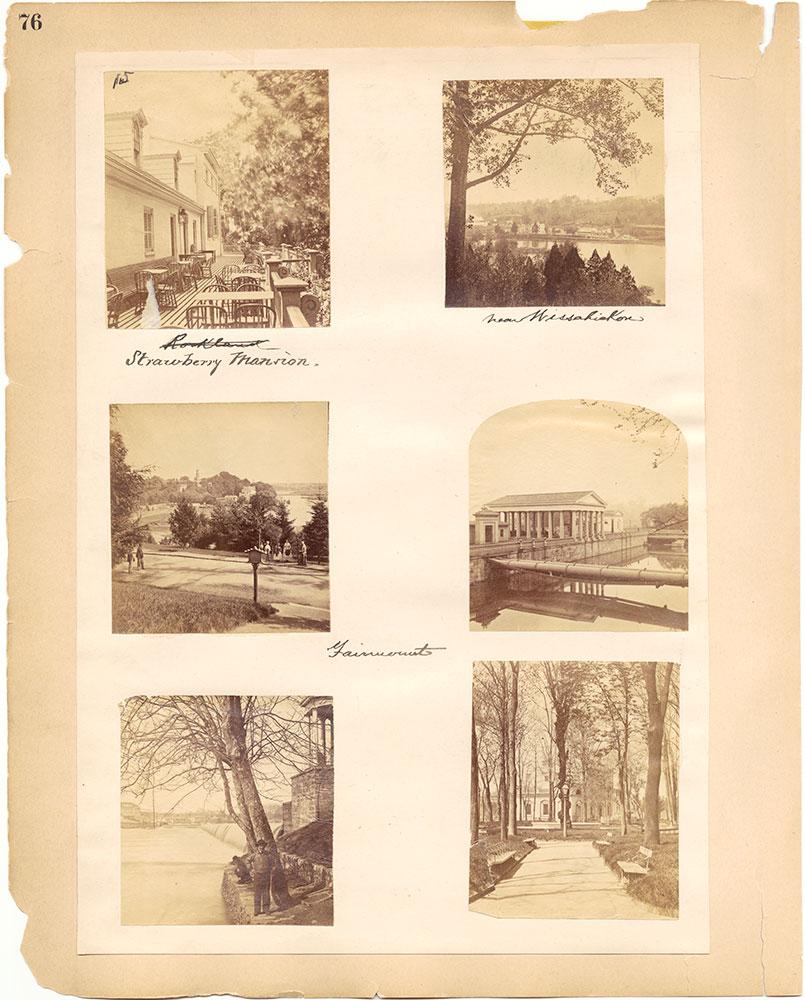 Castner Scrapbook v.30, Park and Schuylkill River 2, page 76