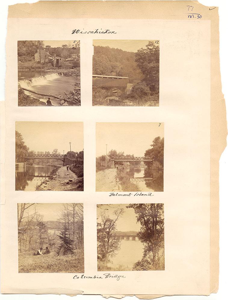 Castner Scrapbook v.30, Park and Schuylkill River 2, page 77