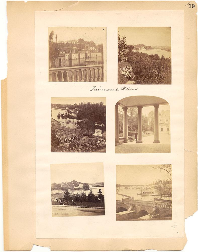 Castner Scrapbook v.30, Park and Schuylkill River 2, page 79