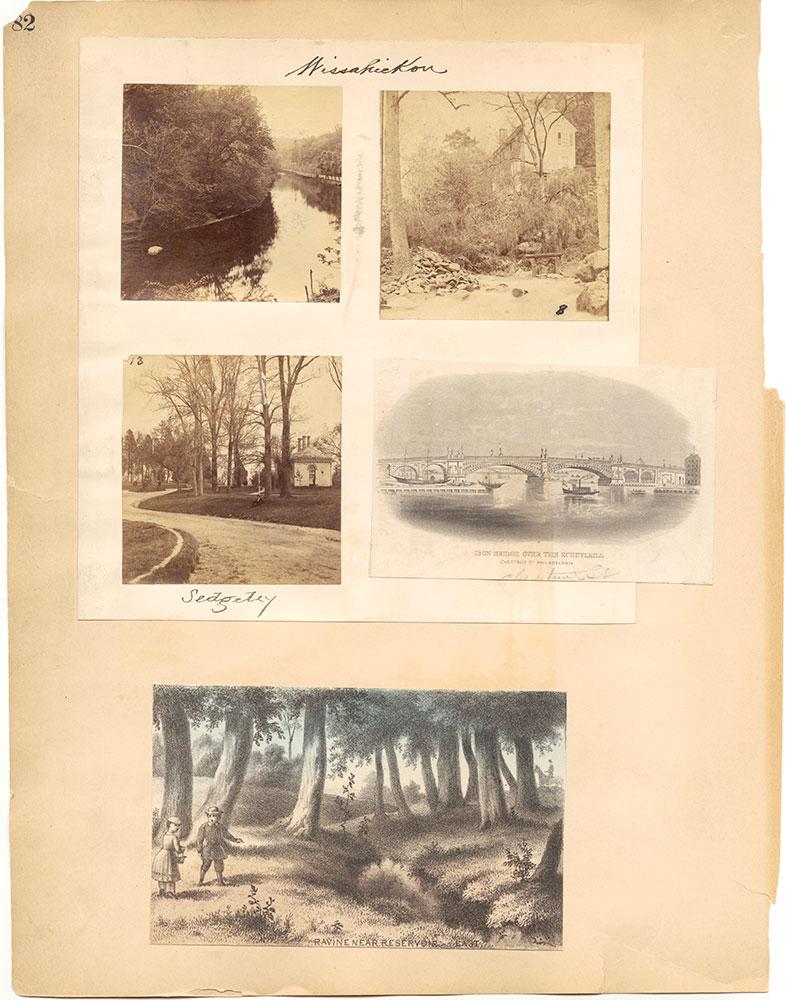 Castner Scrapbook v.30, Park and Schuylkill River 2, page 82