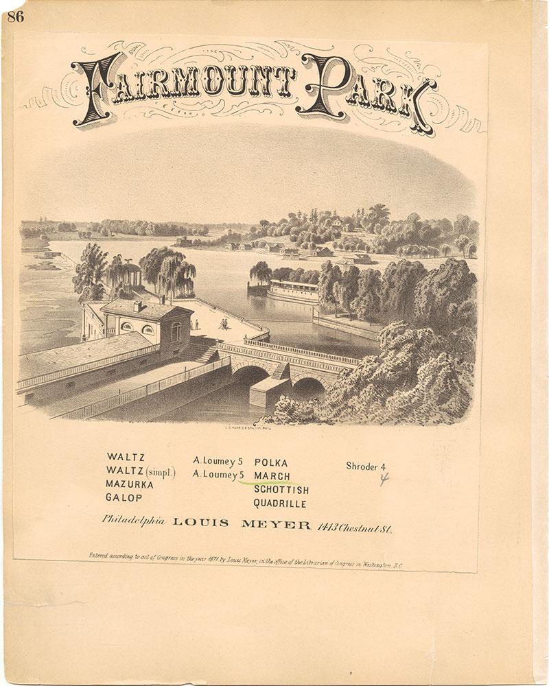 Castner Scrapbook v.30, Park and Schuylkill River 2, page 86