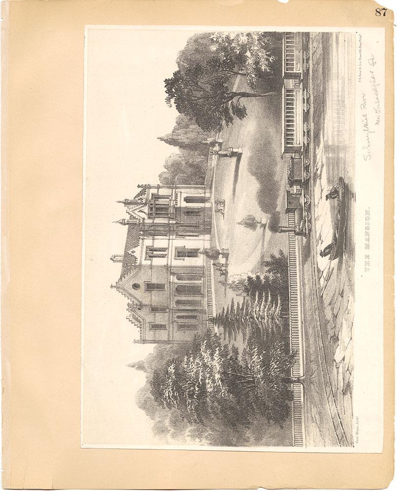 Castner Scrapbook v.30, Park and Schuylkill River 2, page 87