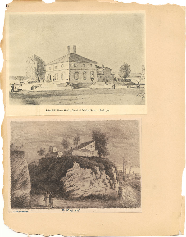 Castner Scrapbook v.30, Park and Schuylkill River 2, page 96
