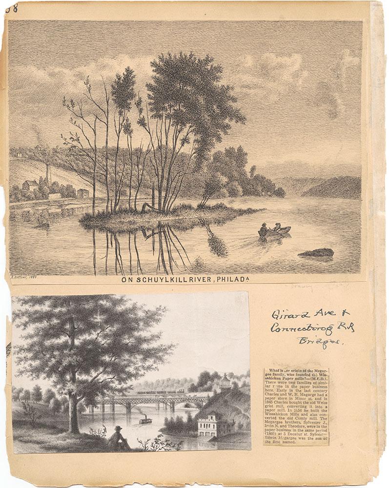 Castner Scrapbook v.30, Park and Schuylkill River 2, page 98
