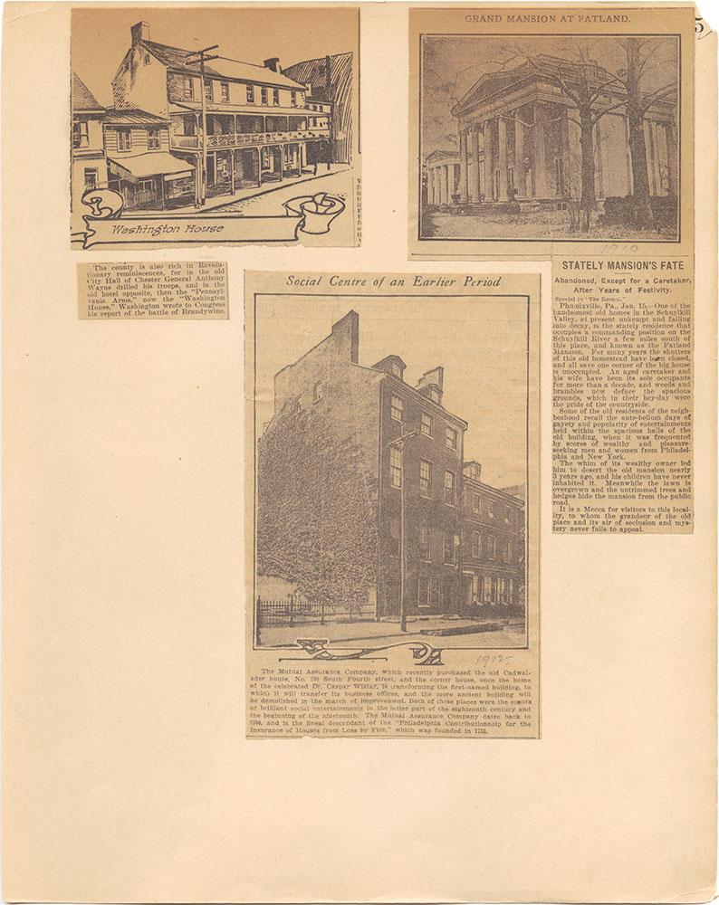Castner Scrapbook v.31, Old Houses 5, page 5