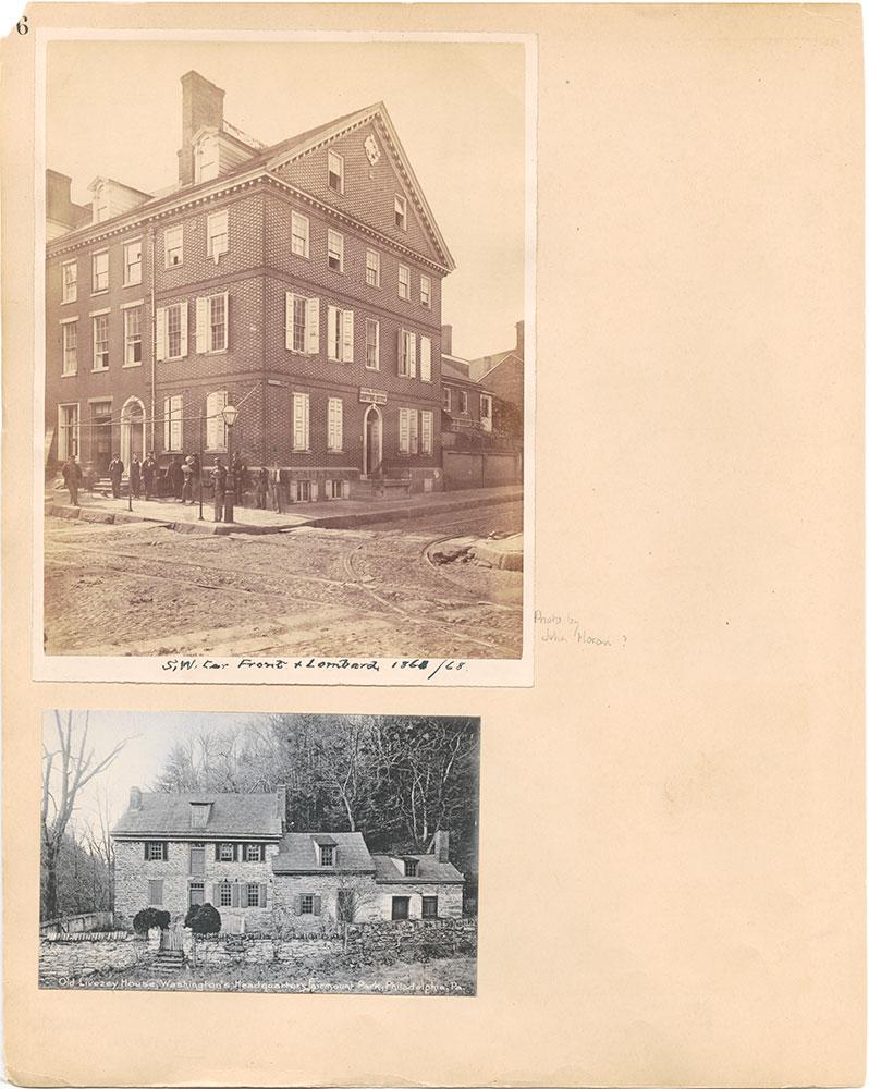 Castner Scrapbook v.31, Old Houses 5, page 6