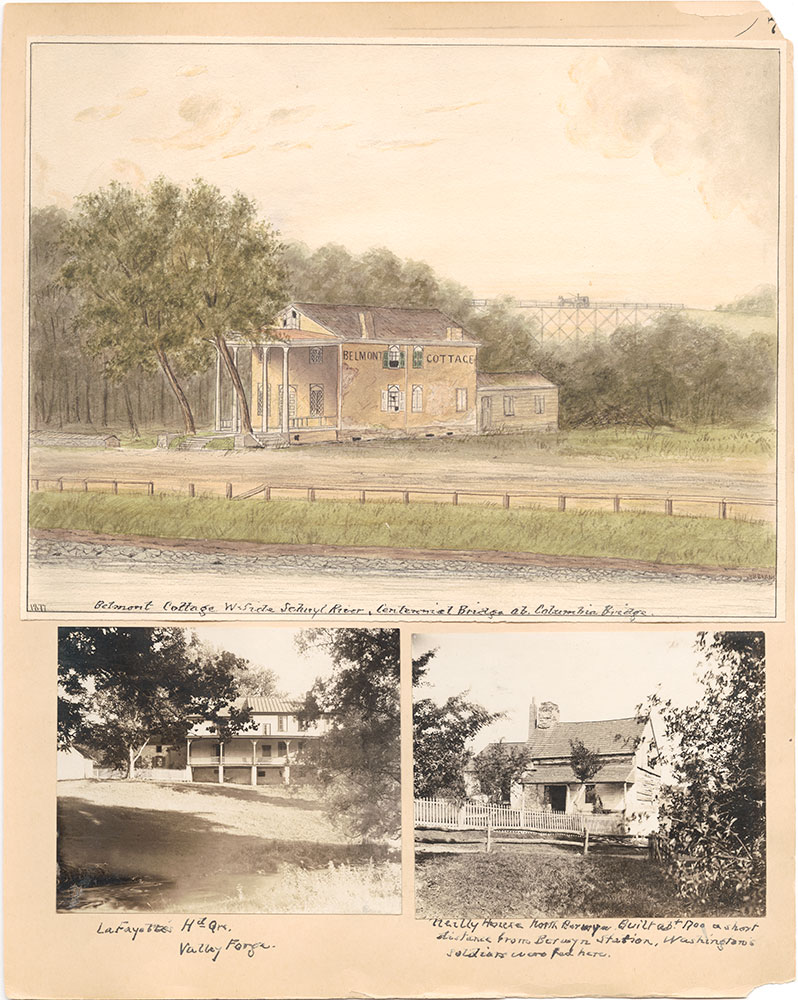 Castner Scrapbook v.31, Old Houses 5, page 7