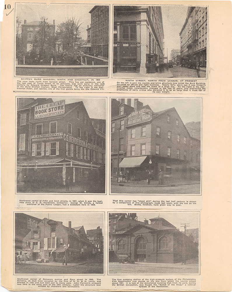 Castner Scrapbook v.31, Old Houses 5, page 10