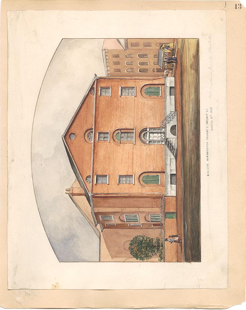 Castner Scrapbook v.31, Old Houses 5, page 13